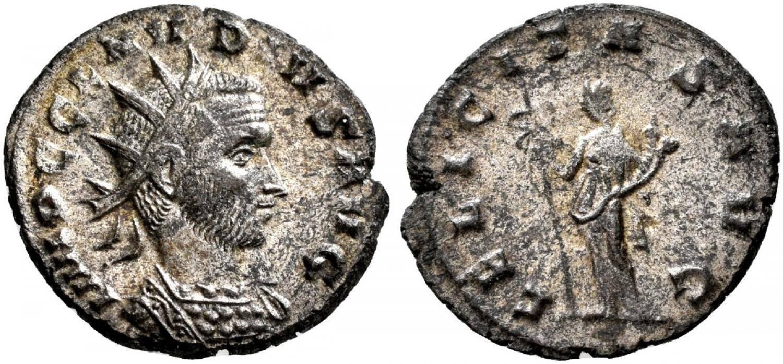 Claudius II bust decoration Claudius-ii-gothicus-268-270-4277855-O