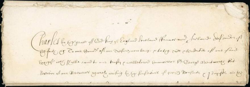 Lot: 2023 | Britain Autographs, Charles I, Undated and