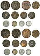 Lot Of Coins Mexico 10 Centavos Lot Of 5 Uncirculated Coins