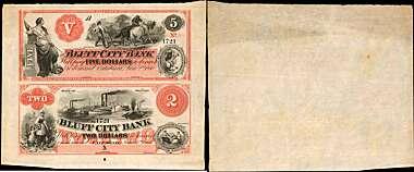 RI Liberty Bank $2.00 ABNC Proof Print Providence