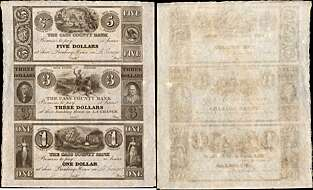 Maryland Farmers /& Merchants Bank Baltimore $100 Obsolete Note Gem Uncirculated